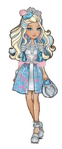 Дочь короля Чарминга — принцесса в Рыцарских доспехах.