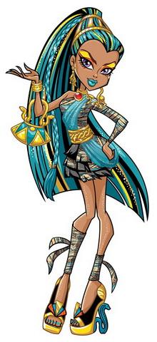 Дочь древней египетской мумии их Монстер Хай.
