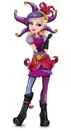 Дочь Карточного Джокера из Эвер Афтер Хай.