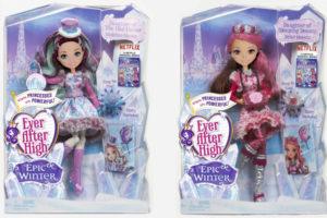 Заколдованная зима — обзор серии кукол Эвер Афтер Хай