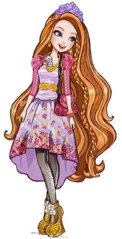 Поппи O'Хейр — длинноволосая красавица.