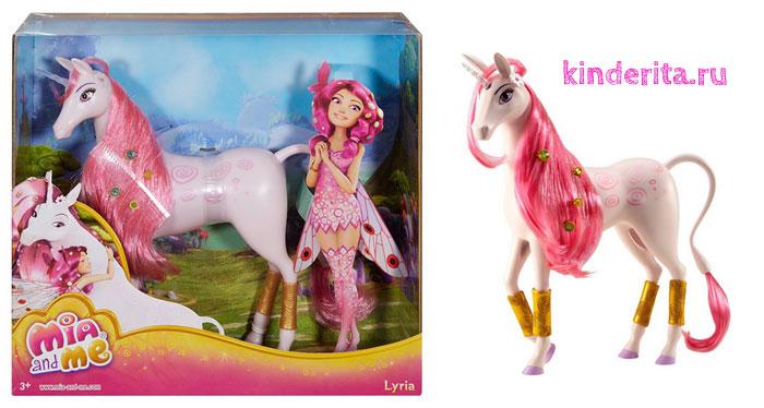 Розовый единорог Лирия.