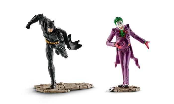 Бэтмен против Джокера.