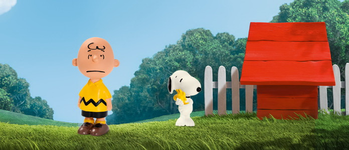 Снупи и Чарли Браун — первые фигурки Шляйх.