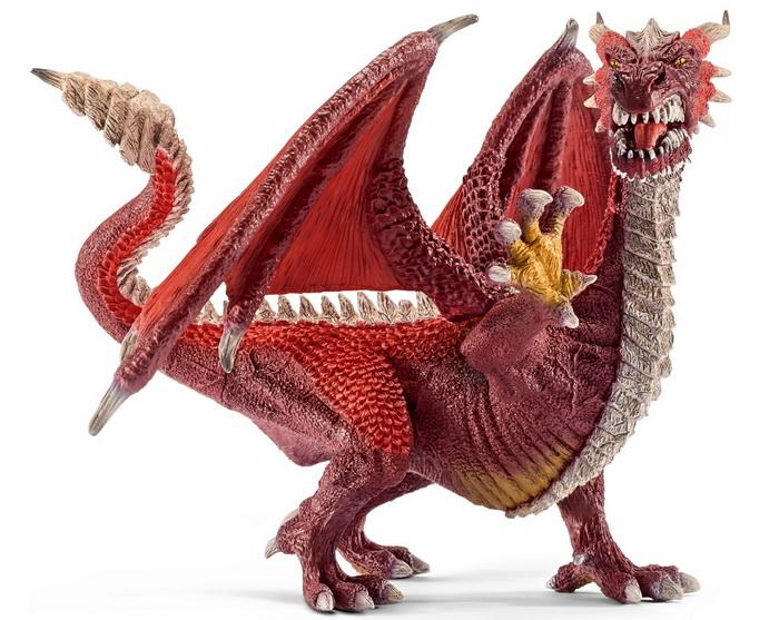 Огнедышащий дракон.