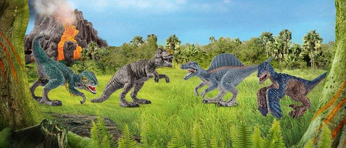 Динозавры в карманном формате.