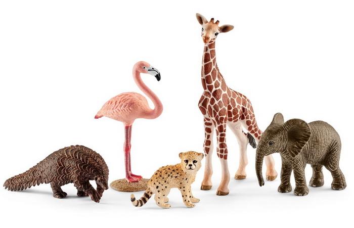 Животные из джунглей от Шляйх.