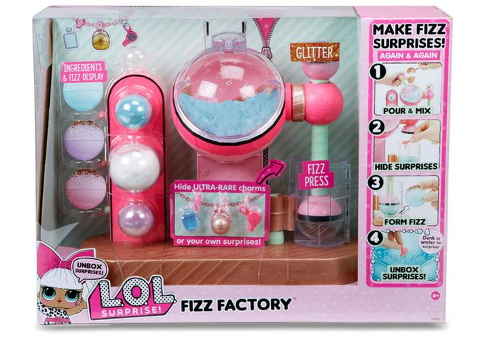 Набор для изготовления шариков для ванны Lol.