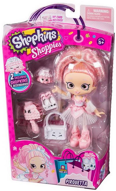 Кукла Пируэтта Shopkins.
