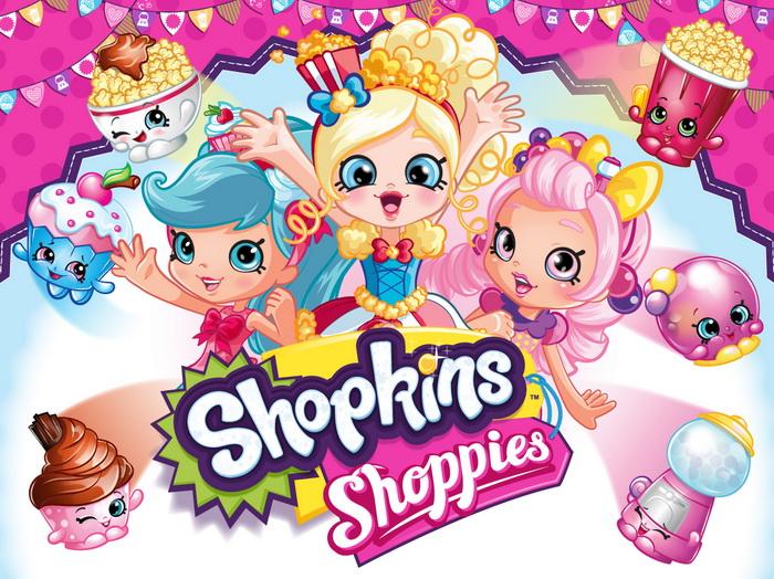 Яркие куколки Шопкинс.