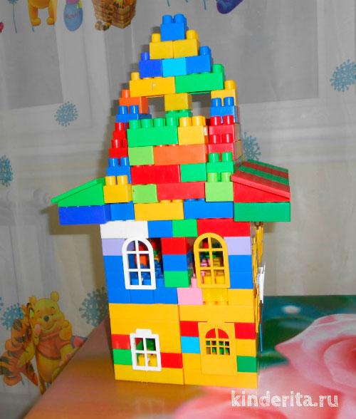 Построенный дом.