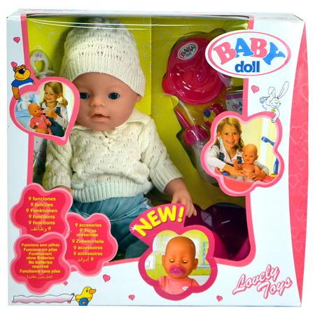 Аналог куклы Бэби Борн.