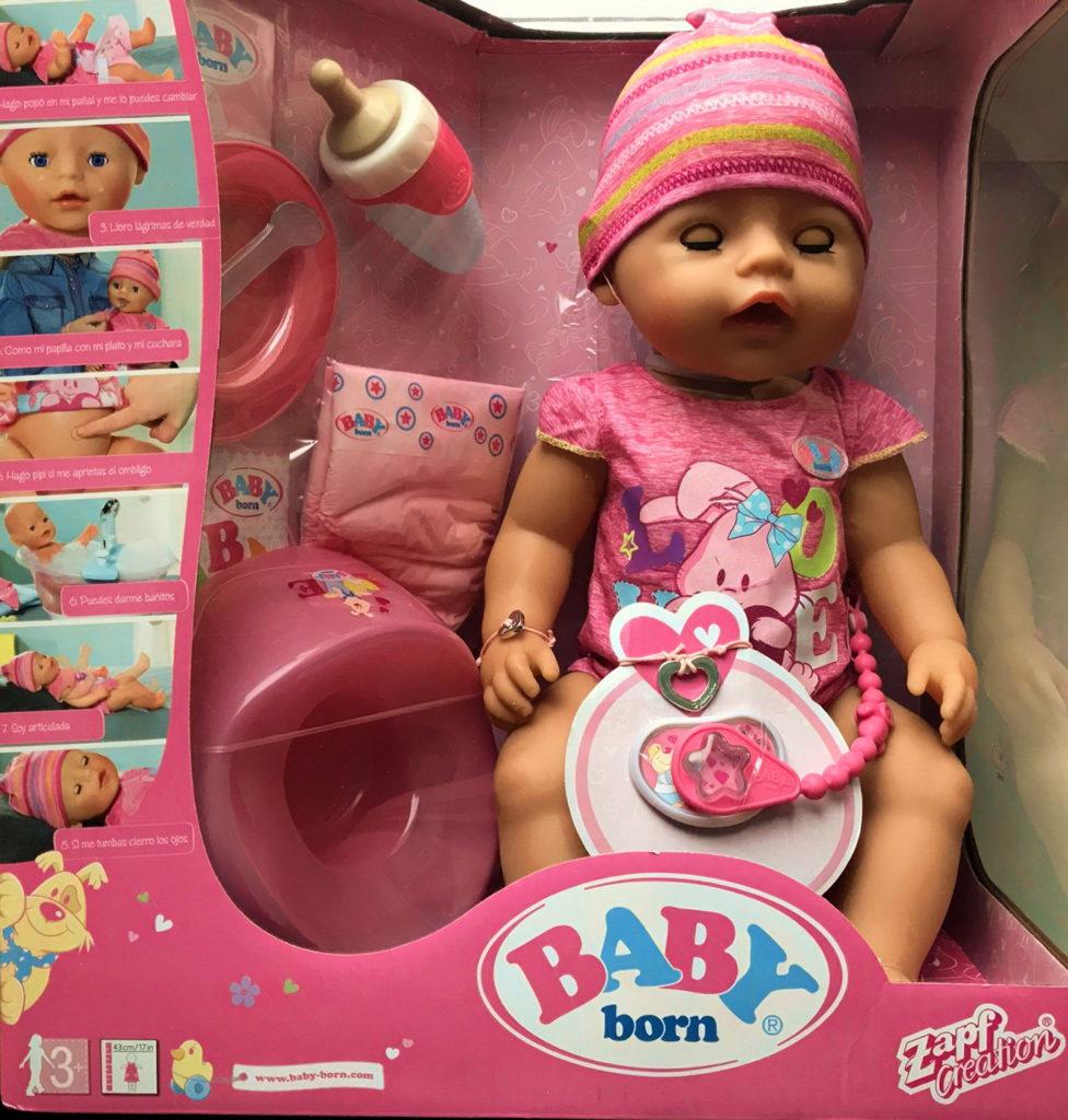Кукла Беби Бон в коробке.