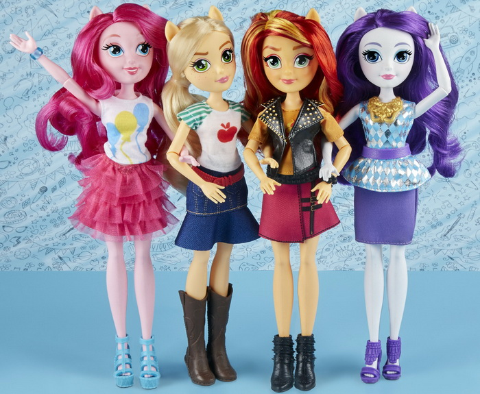 Новые куколки «Девушки Эквестрии».