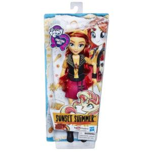 Коробка с куклой Сансет Шиммер.