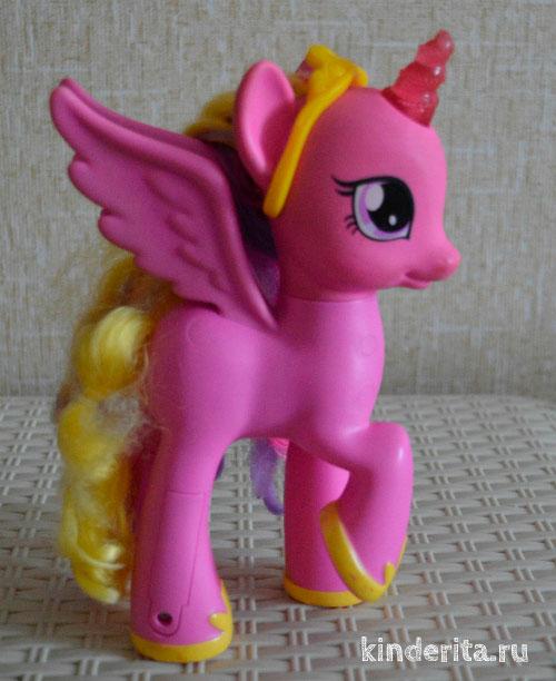 Розовая лошадка.