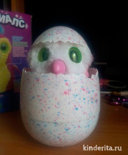 Динозаврик в яйце.