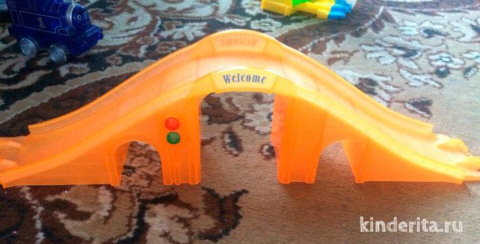Оранжевый мост.