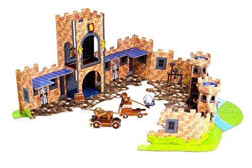 Внутри крепости стик ботов.