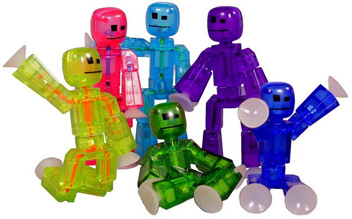 StikBot — разноцветные фигурки на присосках.
