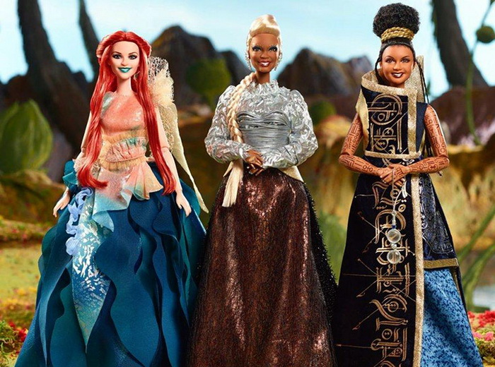 Три Барби к фильму «Излом времени».
