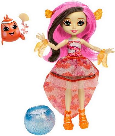 кукла Кларита и рыбка-клоун.