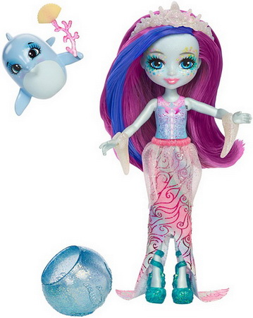 Кукла Дольче и дельфин.