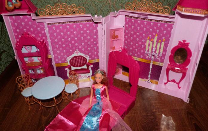 Игровой набор Simba Штеффи и её замок.