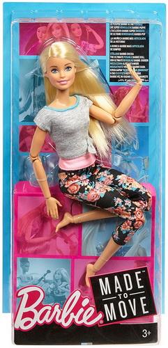 Барби Блонд Движение без границ.