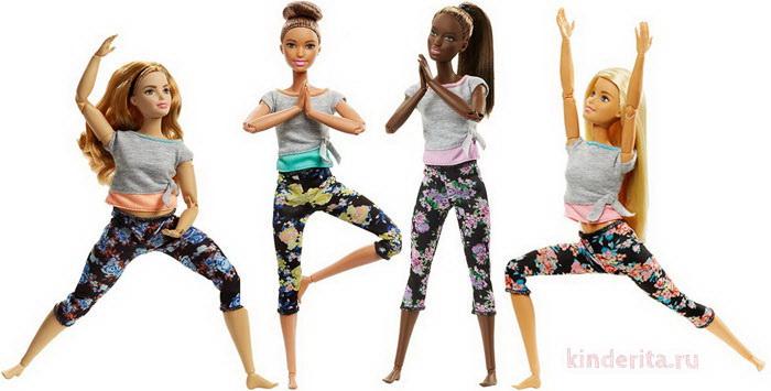 Куклы Барби серии «Безграничные движения-2»