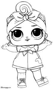 Кукла из шара с конфетти лол.