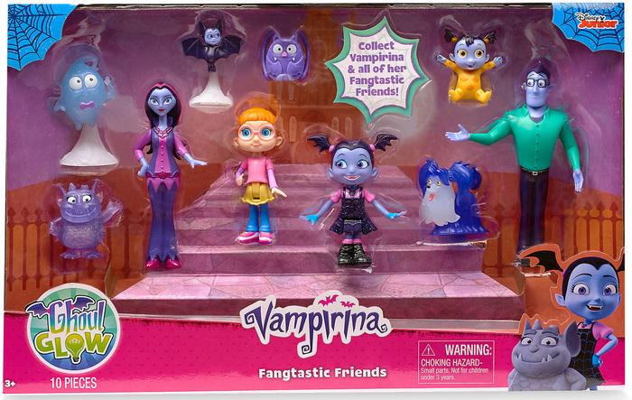 Набор фигурок главных героев из мультфильма «Вампирина».
