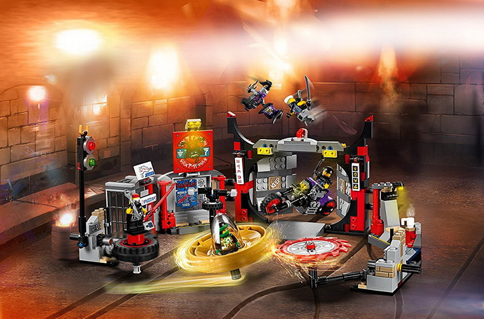 Конструктор Лего «Уроки мастерства кружитцу».