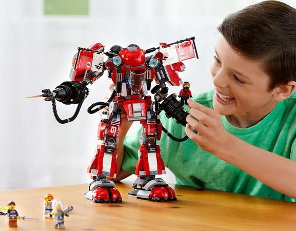 Конструктор «Огненный робот Кая».