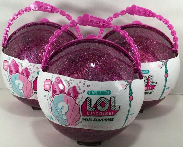 Второй выпуск блестящих шариков-сюрпризов ЛОЛ с куклами-русалками.