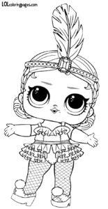 Шаблон куклы ЛОЛ Шоубеби.