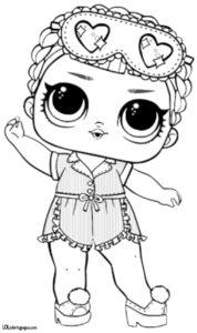 Спальная серия кукол ЛОЛ.