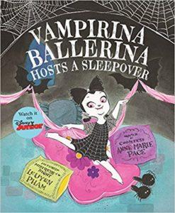 Книга о девочке-вампире.