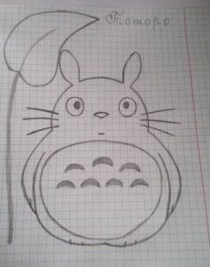 Рисунок Тоторо.