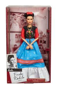 Коробка коллекционной куклы Фрида Кало.
