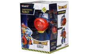 Самый сильный робот-поезд Виктор.