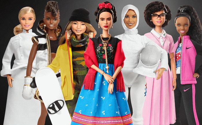 Коллекционные куклы Барби — Великие женщины.