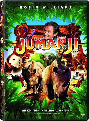 Джуманжи — фильм с Робином Уильямсом в главной роли.