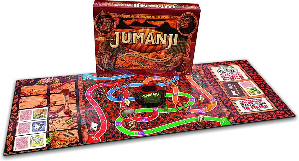 Настольная игра «Джуманджи», которую можно купить в Америке. Цена около 20 долларов.