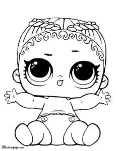 Кукла Лол Кокос.