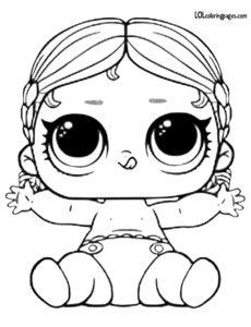 Лил Вакай Бабай — кукла ЛОЛ в шарике без конфетти.