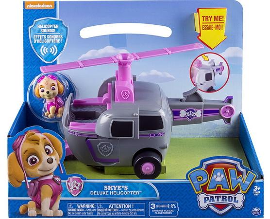 Вертолёт-трансформер со звуковыми эффектами Скай.