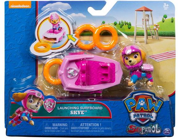 Новые игрушки с Щенячьим патрулём — морская серия.