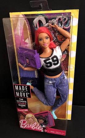 Барби танцовщица.