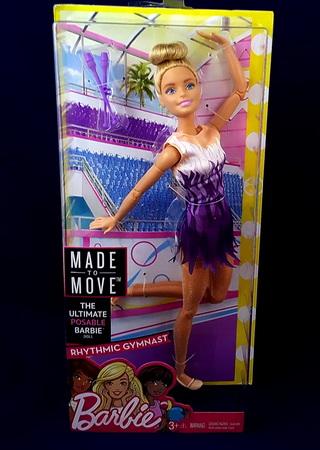 Кукла Барби гимнастка.